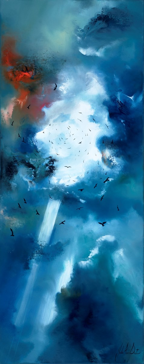 Taken By Storm II by julie ann scott -  sized 16x40 inches. Available from Whitewall Galleries
